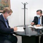 El COMTF y CaixaBanK sellan un nuevo acuerdo de colaboración
